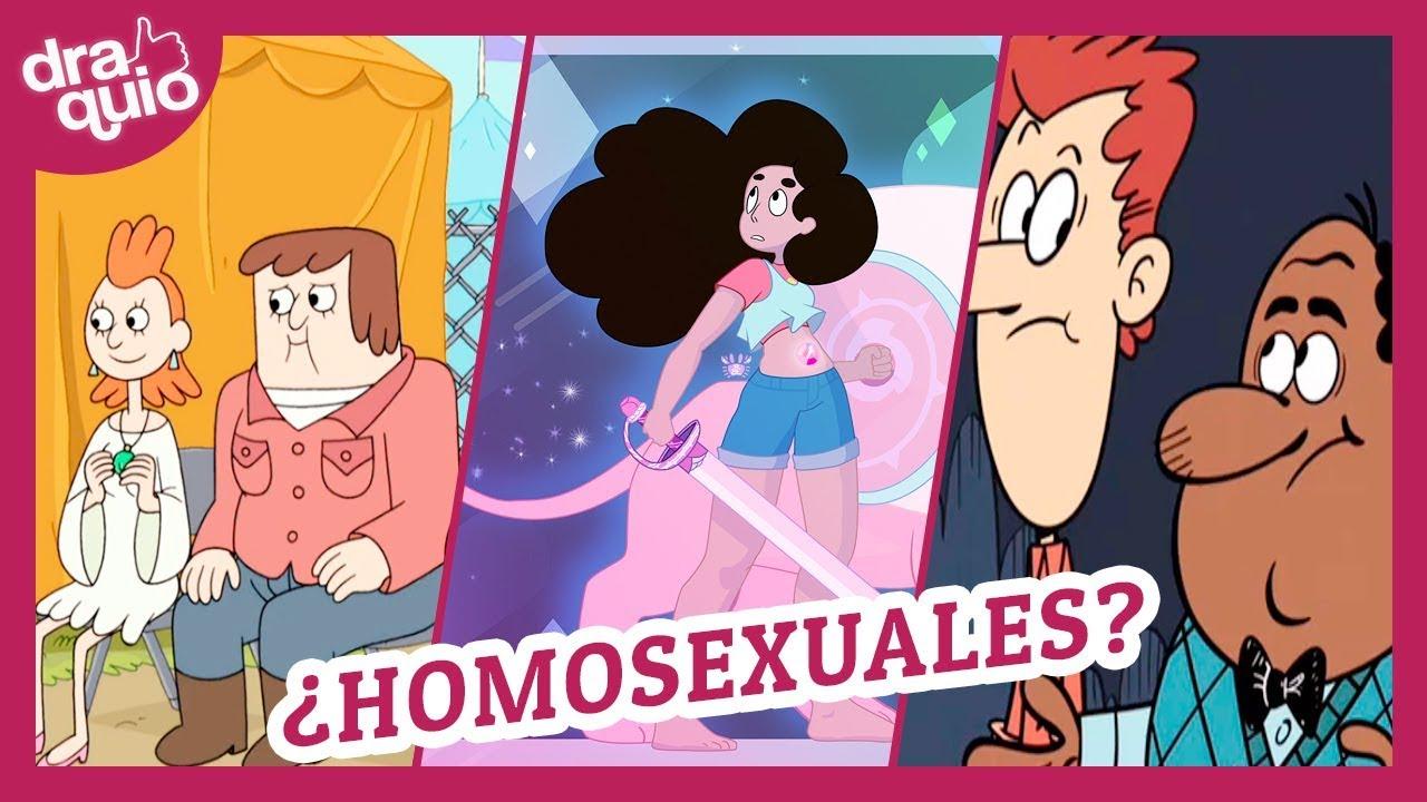 personajes gay dibujos animados