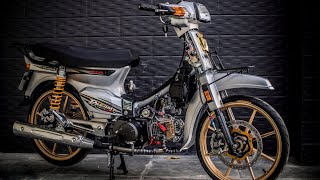 Pho Decal   Honda Dream   The old motorbike , watch the video and relax