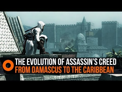 The Evolution of Assassin's Creed - From Damascus to the Caribbean