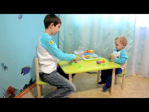 Детские столики со стульчиками, Помогайка.Харьков