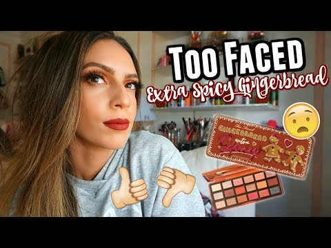Too Faced GINGERBREAD EXTRA SPICY Palette | Do you NEED it?! thumbnail