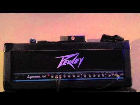 Peavey Supreme 160 Demo - YouTube
