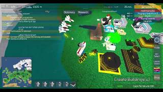 Roblox The Conquerors 3 Gameplay War for Europe.