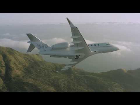 L'avion d'affaires Challenger 350