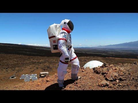 Pronto los seres humanos vivirán en Marte en grandes ciudades