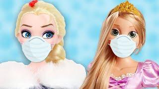 👸  Las Princesas Disney tienen La Varicela! 🔮