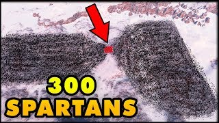Can 300 Spartans Win Against 50,000 Persians in Ultimate Epic Battle Simulator?