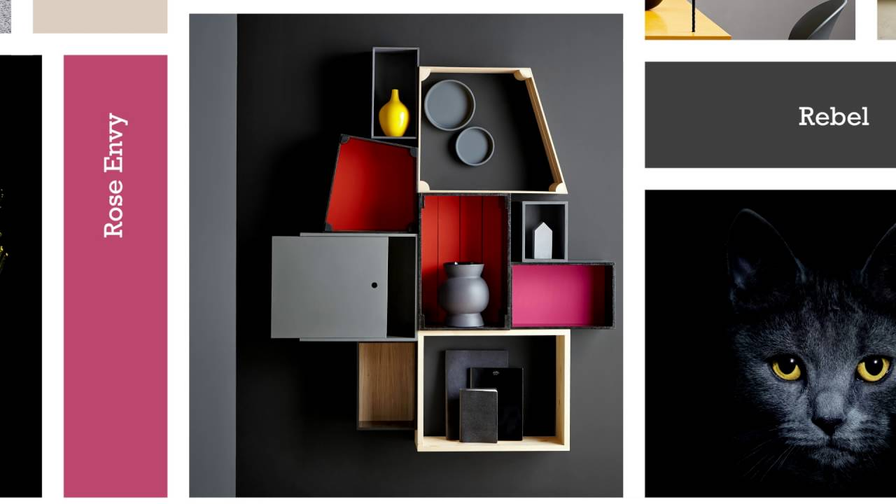 Colour Trends Autumn Winter 2016 Out Of The Dark Interior Paint
