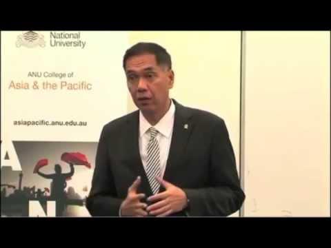 Indonesian Trade Minister Gita Wirjawan Speech at Australia National University 13.09.12