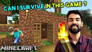 Minecraft Survival Gameplay - Minecraft Gameplay in Hindi #1