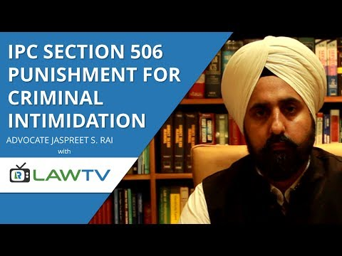 Indian Kanoon - IPC Section 506 punishment for criminal intimidation - आईपीसी धारा 506 - LawRato