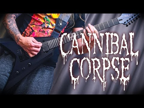Cannibal Corpse Hammer Smashed Face Cover Youtube
