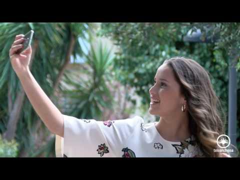 La belleza de la Reina y Damas Juveniles Fiestas de Archena 2017. Vídeo presentación. Conócelas