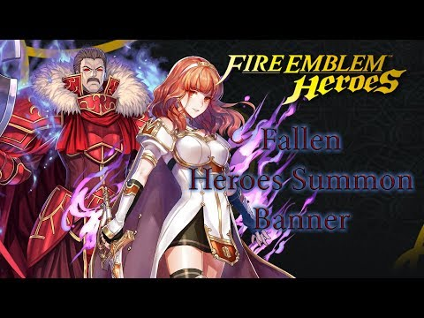 [F2P] Fire Emblem Heroes: Summon 215 orbs - Fallen Heroes Banner