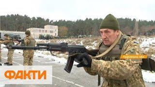 Тревога и тяжелая техника: под Харьковом прошли учения резервистов