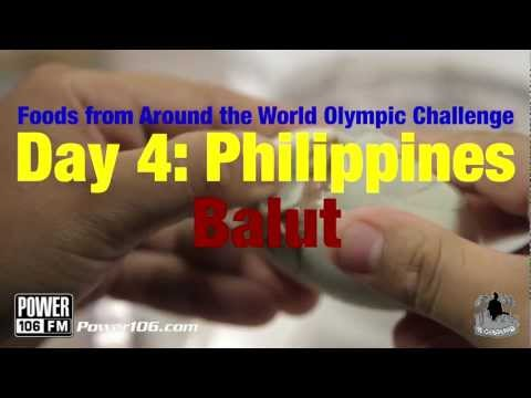 Louie G Eats Foods from Around the World Day 4: Balut from the Philippines