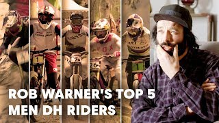 UCI MTB 2018: Rob Warner's Top 5 Men DH riders to watch this season.