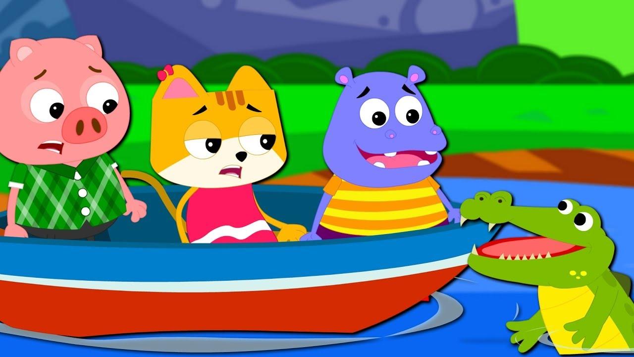 Row Row Row Your Boat | Nursery Rhymes & Baby Songs | Kids ...