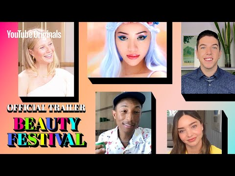 TRAILER YouTube's first ever #BeautyFest: Pharrell, Selena, Addison, Hyram, Gwyneth, Miranda & more
