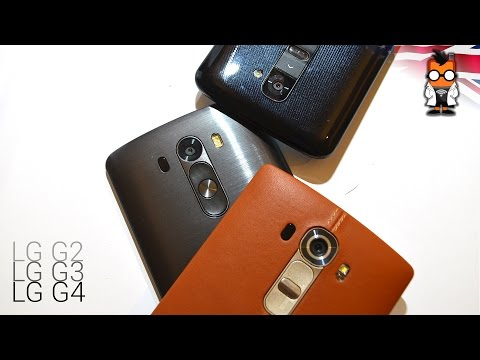 LG G4 vs LG G3 vs LG G2 & Why the G2 is still a Great Phone