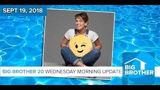 BB20 | Wednesday Morning Live Feeds Update - Sept 19, 2018
