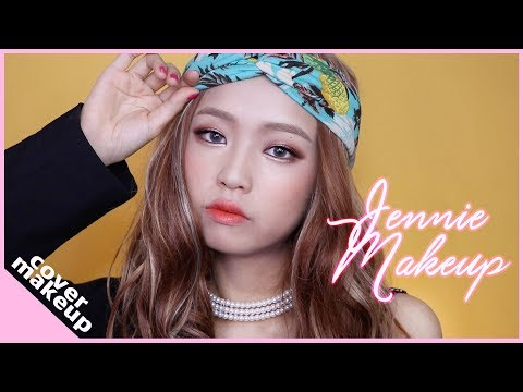 (ENG) 블랙핑크 제니 마지막처럼 커버 메이크업 / BLACKPINK Jennie As If It's Your Last Cover Makeup Tutorial