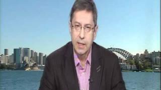 UNICEF Chief Executive Norman Gillespie speaks to ABC2 Virginia Trioli