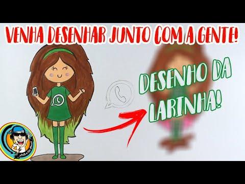 Como desenhar BONEQUINHA TUMBLR do ZAP com Pádua Bastos e Lara