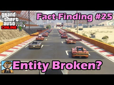 Entity XXR Broken? What's Wrong With The Super Sport Series Cars? - GTA Fact-Finding #25