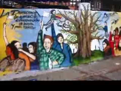1er concurso mural sobre derechos humanos bogot ciudad for El mural de bonampak