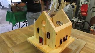 Summers Woodworking Birdhouse Build Contest 2014 (the Church)