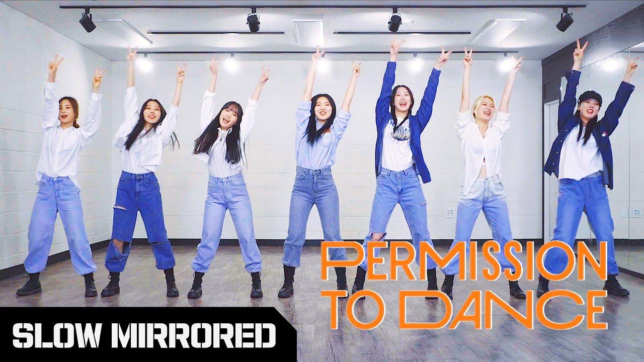 [SLOW] BTS 방탄소년단 - 'Permission to Dance' | 커버댄스 DANCE COVER | 안무 배우기 느리게 거울모드 SLOW MIRROR MODE