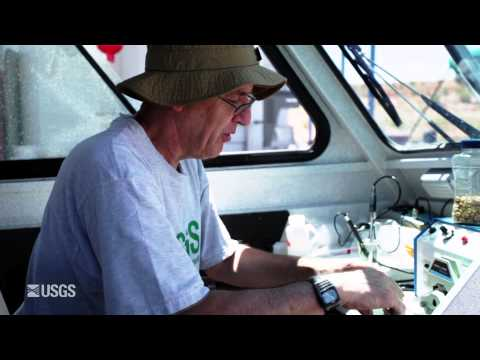 Lake Powell Water Quality Samples at a Specific Depth