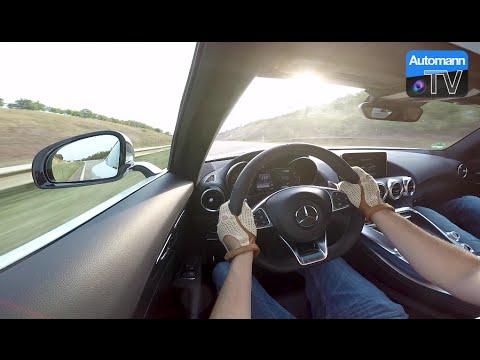 2016 Mercedes-AMG GTS (510hp) - FAST Autobahn RIDE (60FPS)