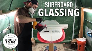 Surfboard Glassing Time-Lapse