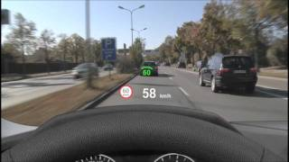 BMW: Vollfarbiges Head Up Display in Aktion