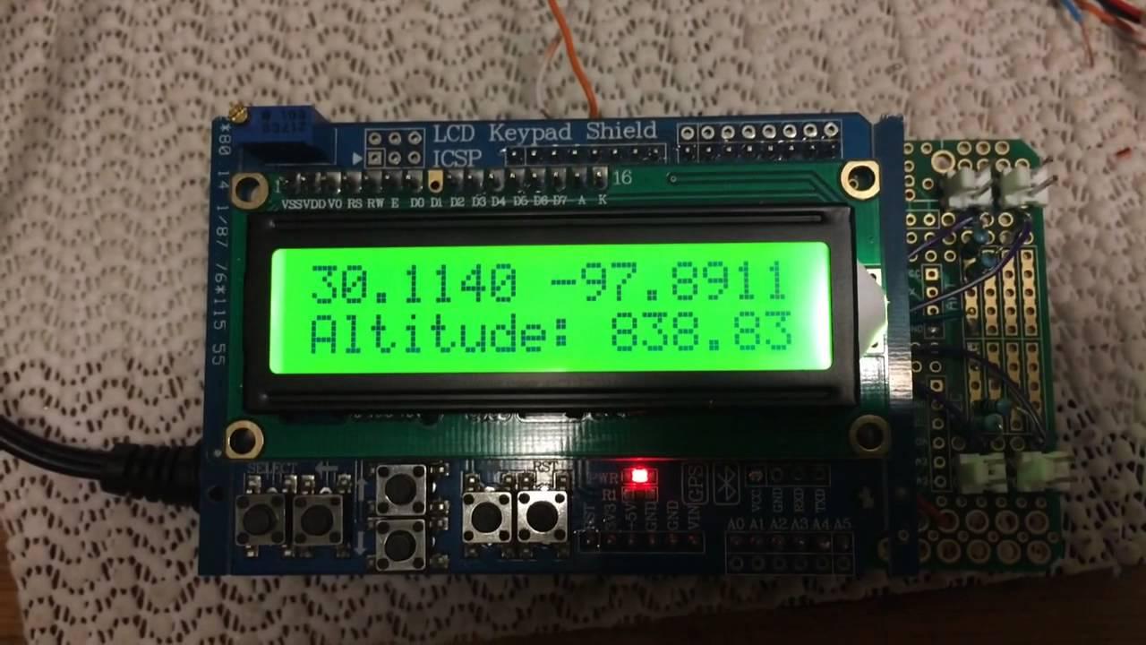 Arduino sonde GPS decoder