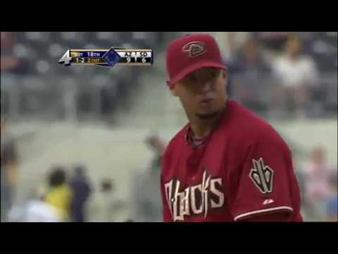 Padres Rally In The 9th, D'backs Prevail In 18 Innings