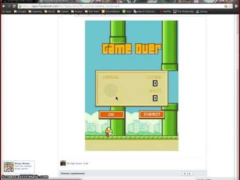 Xander Let's play PC games Flappy bird