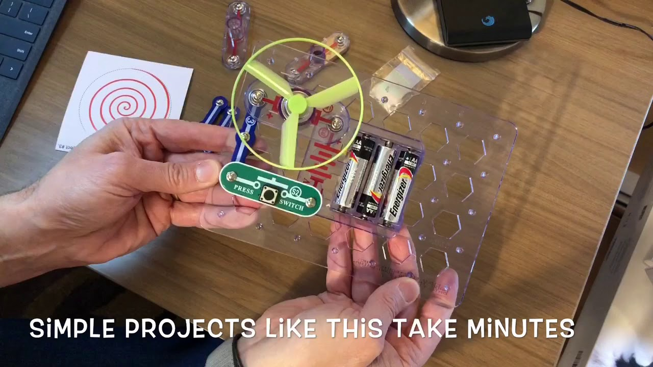 Snap Circuits Youtube Great Installation Of Wiring Diagram Jr Gadget Quest Test Drive Rh Com Circuit