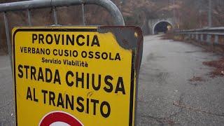Galleria chiusa di Omegna, Cirio: