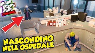 Gta 5 ITA - Nascondersi dal cattivo dentro all'ospedale - W/SpJockey