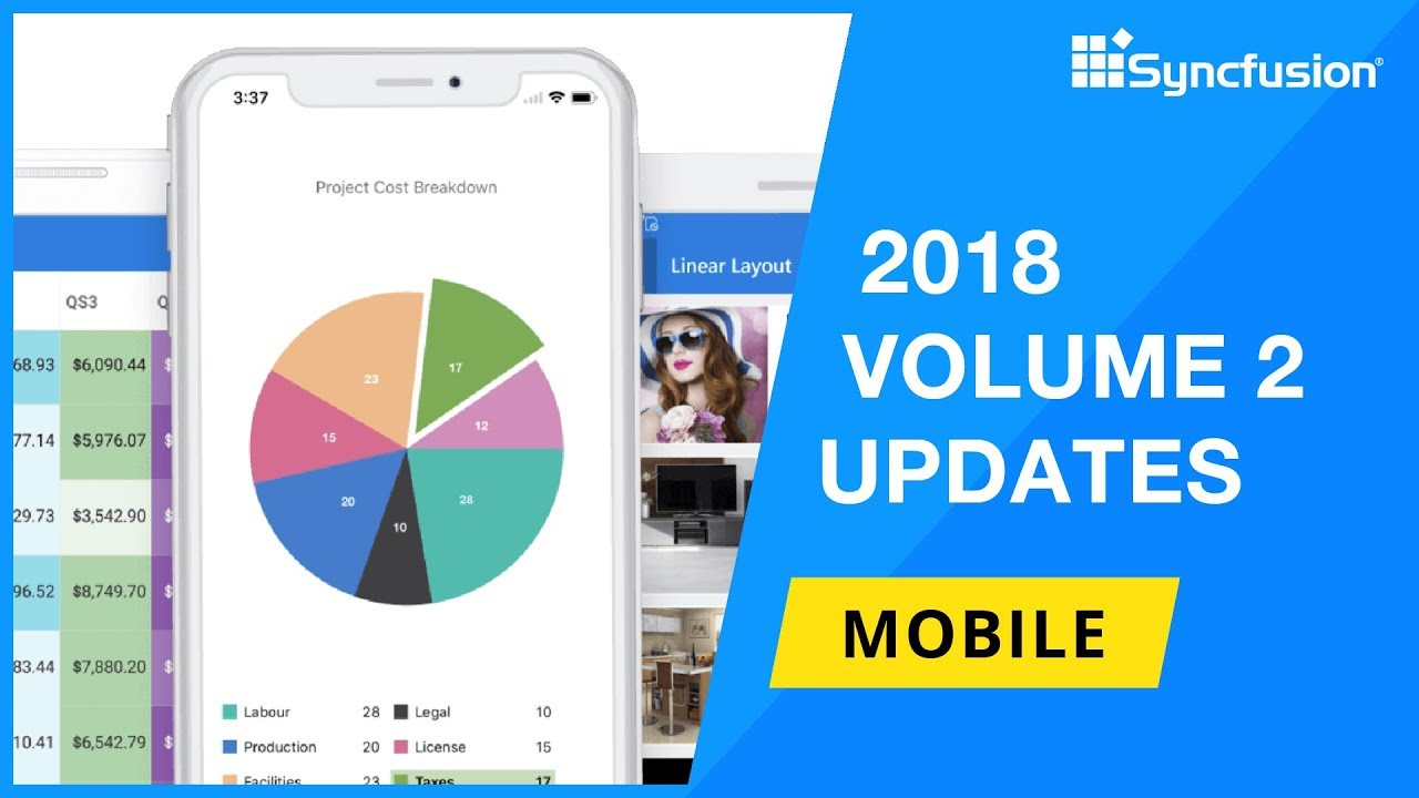Syncfusion Mobile Updates —2018 Volume 2