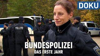 Schützen, Schießen, Kontrollieren: Das erste Jahr bei der Bundespolizei | hessenreporter