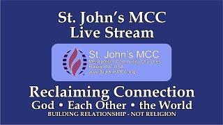 7/12/2020 Sunday Morning Worship at St. John's MCC