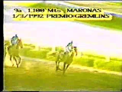Download 9a Carrera 1100mts. 01/03/1992 BLACK THIEF Hipodromo de Maroñas Stud General Rivera Alberto Montaño