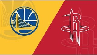 NBA Live Stream: Houston Rockets Vs Golden State Warriors (Live Reaction & Play By Play) Game 2