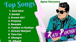 Raju Panjabi Non stop Songs  || Raju Panjabi Jukebox