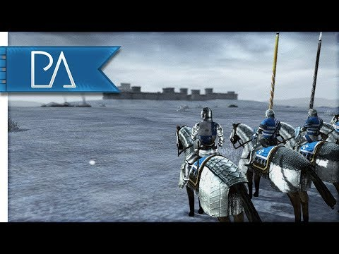 SIEGE OF THE FROZEN FORTRESS - Medieval 2 Total War Mod Gameplay