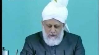 Проповедь Хазрата Мирзы Масрура Ахмада, (11-06-10) часть 6